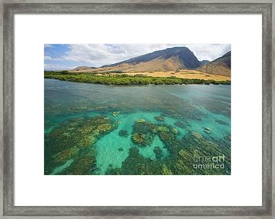 Maui Landscape Framed Print by Ron Dahlquist - Printscapes