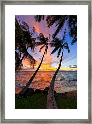 Maui Magic Framed Print by James Roemmling