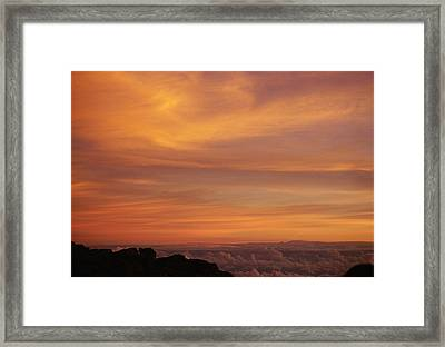 Framed Print featuring the photograph Maui Sunrise by Gary Cloud
