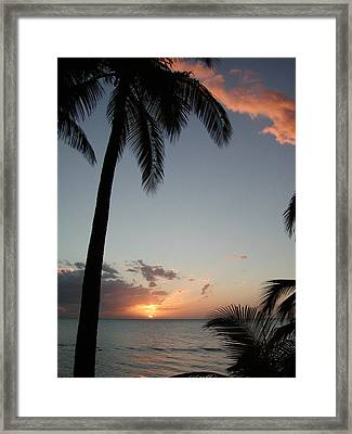 Maui Sunset Framed Print by Dustin K Ryan