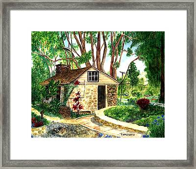 Maui Winery Framed Print