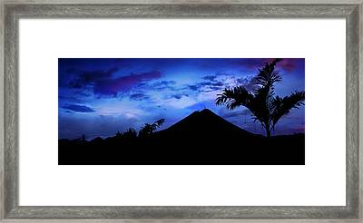 Framed Print featuring the photograph Mauii by Lucian Capellaro