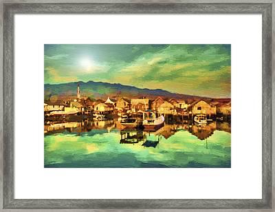 Maumere Framed Print