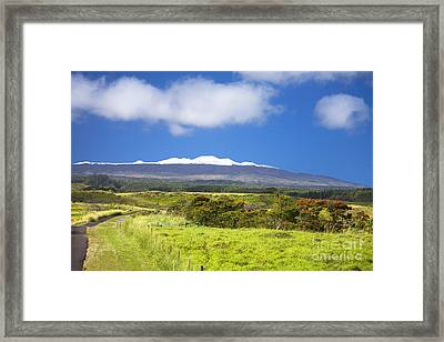 Mauna Kea Framed Print by Peter French - Printscapes