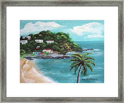 Maunabo Puerto Rico Framed Print by Luis F Rodriguez