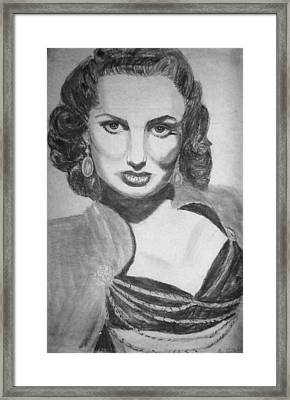 Maureen O'hera Framed Print by Scarlett Royal