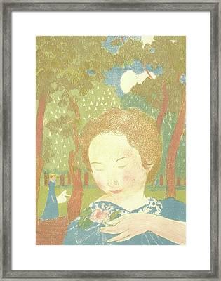 Maurice Denis Framed Print by MotionAge Designs