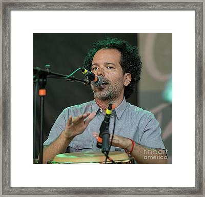 Mauricio Arcas Framed Print by David Oppenheimer