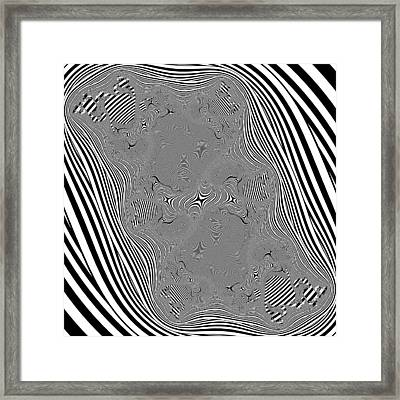 Mauruating Framed Print