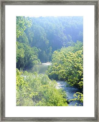 Maury River Framed Print by Eddie Armstrong