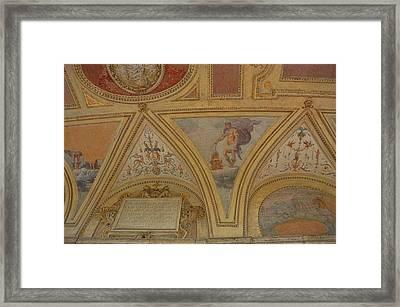 Mausoleum Frescos Framed Print by JAMART Photography