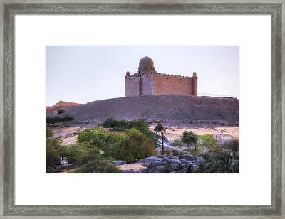 Mausoleum Of Aga Khan - Egypt Framed Print
