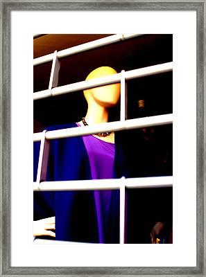 Mauveness Framed Print by Jez C Self