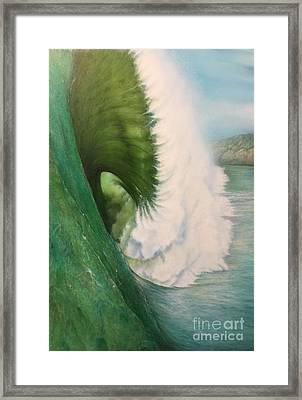 Mavericks Framed Print