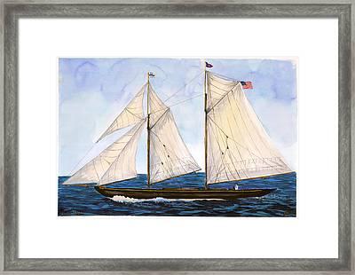 Mavis 1901 Framed Print
