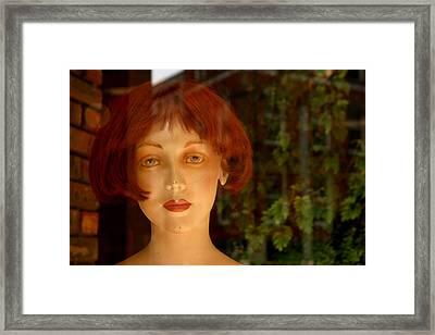 Mavis Framed Print by Jez C Self