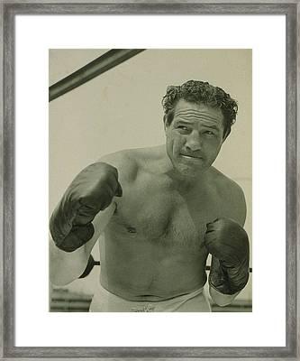 Max Baer 1909-1959, One-time Framed Print