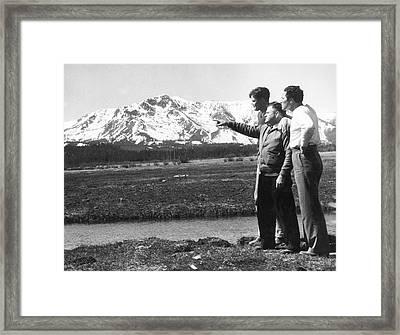 Max Baer At Lake Tahoe Framed Print