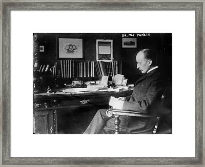 Max Planck 1858-1947, German Physicist Framed Print