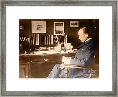 Max Planck, German Physicist Framed Print by Science Source