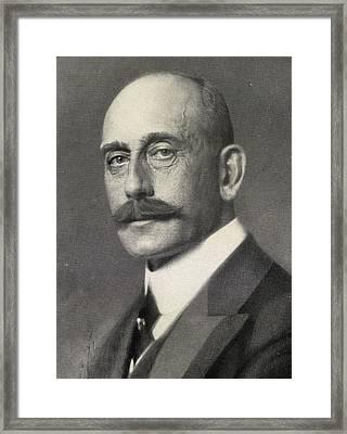 Max Von Baden, 1867-1929. Heir To Framed Print