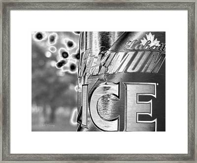 Maximum Ice - 065 Framed Print by Maciek Froncisz