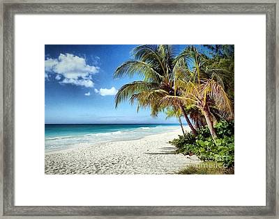 Maxwell Beach Barbados Framed Print