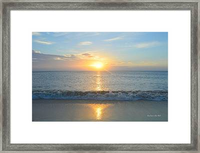 May 23 Sunrise Framed Print