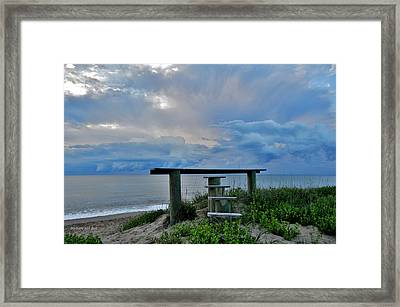 May 7th Sunrise Framed Print