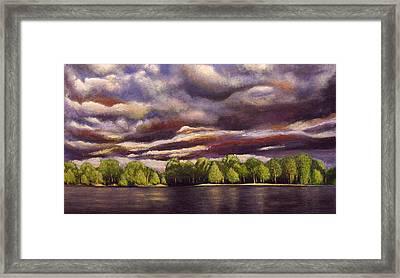 May-after Rain Framed Print by Vladimir Kezerashvili
