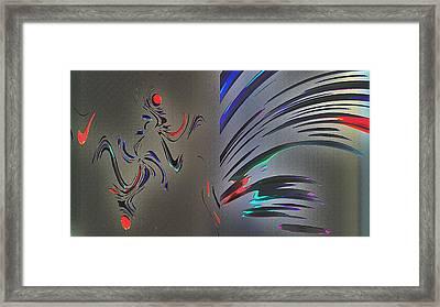 May Be Art Framed Print