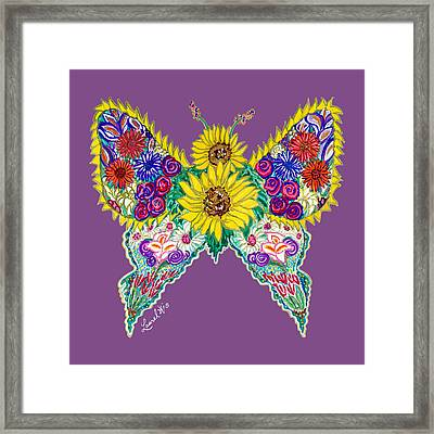 May Butterfly Framed Print