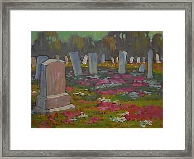 May Day Framed Print by Len Stomski