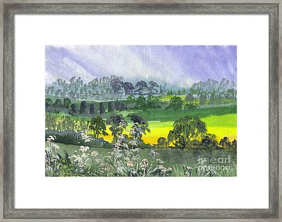 May Essex Uk Framed Print by Dianne Green