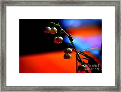 May Flowers Framed Print by Susanne Van Hulst