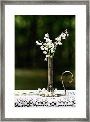 May Flowers Framed Print by Wendy Stevenson