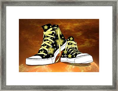 May I Converse With You Framed Print