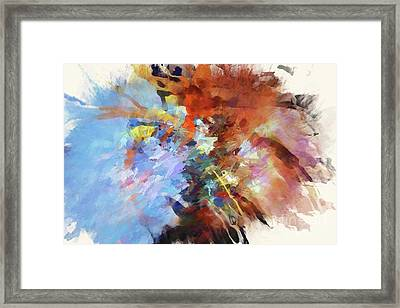 May I Have Your Tension? Framed Print