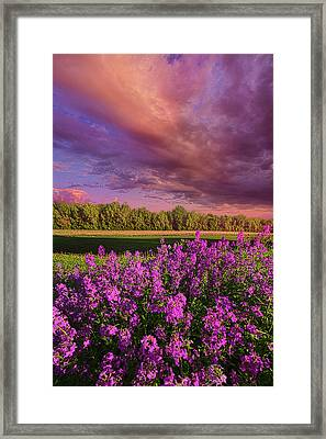 May It Be Framed Print by Phil Koch