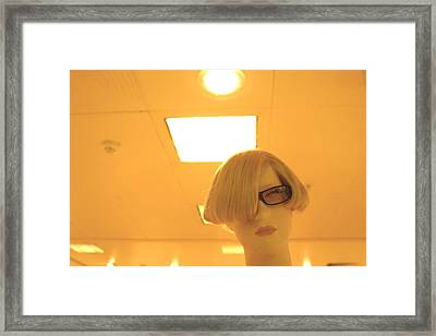 May Jane Framed Print by Jez C Self