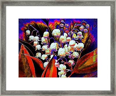 May-lilies Framed Print