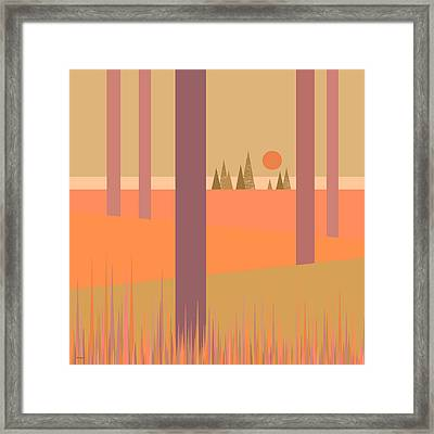 May Morning Framed Print by Val Arie