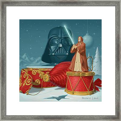 May The Holidays Be With You Framed Print
