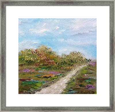 May The Road Rise Up To Meet You Framed Print