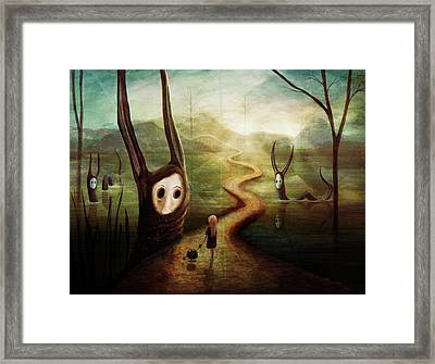 May We Pass By Framed Print