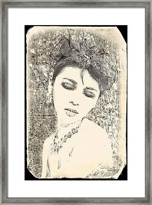 Maya Framed Print by Chris Armytage