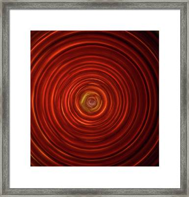 Maya Eclipse Framed Print by Denise ART