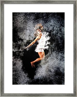 Maya Jump Framed Print by Svetlin Yosifov