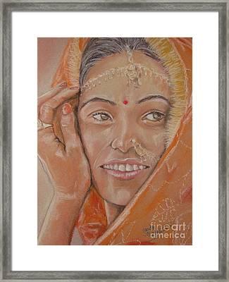 Maya Framed Print by Sandra Valentini
