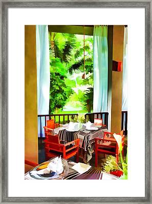 Maya Sari Mas Framed Print